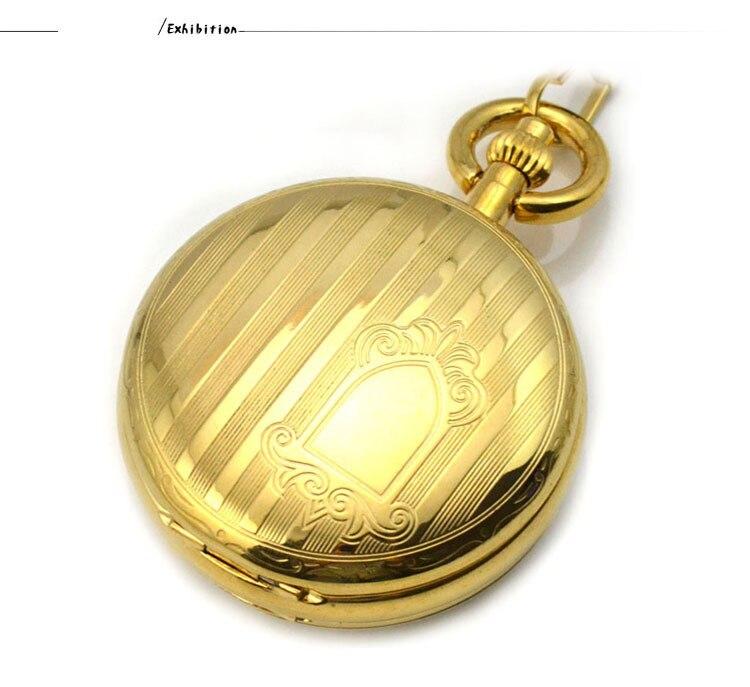 Vento Mão relógio de Bolso & Fob