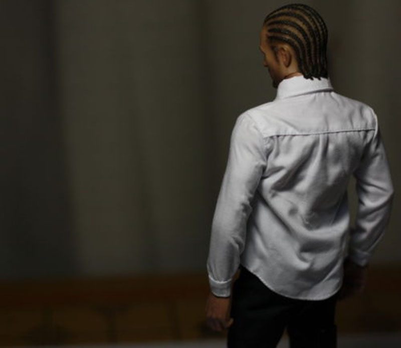 1 6 scale toys man male boy clothing classic white shirt clothes for 12 quot male doll figure toys accessories in Action amp Toy Figures from Toys amp Hobbies