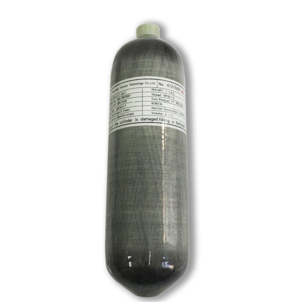 AC1090 9L 4500Psi 300Bar Carbon Fiber High Pressure Cylinder Air Pcp Gun Paintball Air Gun Scuba Bottle Airsoft Pistol Acecare