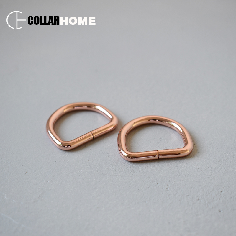 100pcs Metal buckle D shaped environmental Dee D ring 1 Inch 25mm DIY backpack straps bag