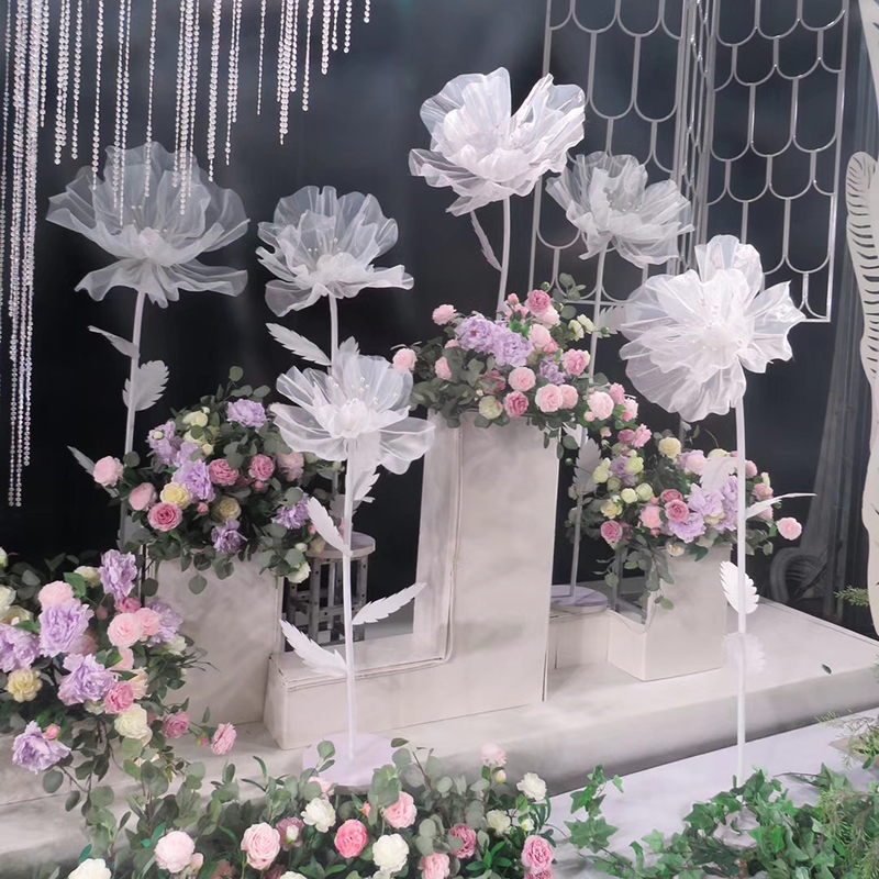 Artificial Silk Peony Rose for Home Wedding Road Lead Backdrop Decorative Flower Photography Props Outdoor Party Stage SuppliesArtificial Silk Peony Rose for Home Wedding Road Lead Backdrop Decorative Flower Photography Props Outdoor Party Stage Supplies