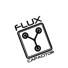 Flux Конденсатор Назад Будущего Окна Авто Винил Наклейки Шутка Забавный Прохладный Евро Jdm Vag