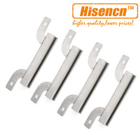 Hisencn 09423 4pcs Pack Brinkmann 810 9419 810 9419 1 Grill Replacement Carry Over Carryover Channel