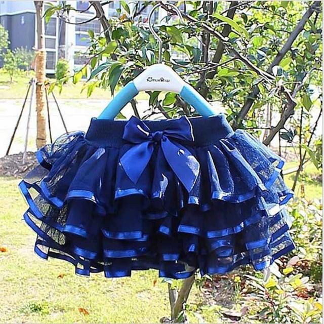 Cô gái tutu váy bé nữ diễn viên ballet trẻ em váy chiffon pettiskirts fluffy trẻ em Thánh Hóa giản dị kẹo màu váy