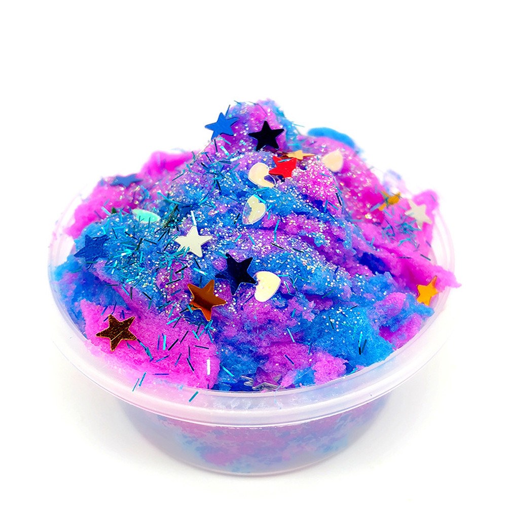 Toys & Hobbies Colours Fruits Squishies Mud Slime Putty Scented Stress Clay Sludge Toy Drop Shipping Wholesale 20 To Win Warm Praise From Customers Modeling Clay