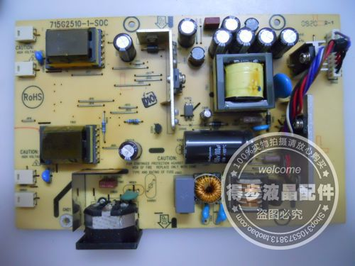 Free Shipping>Original Sotec LA20TW-01 power board 715G2510-1-SOC Good Condition new test package-Original 100% Tested Working free shipping original l1710 power board 715g2655 1 2 powered board package test good condition new original 100% tested worki