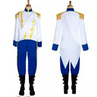 The Little Mermaid Prince Eric Cosplay Costume Tailor made