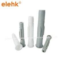 6x36 мм/8x50 мм/10x60 мм/12x71 мм 100 шт нейлоновый пластиковый дюбель настенная вилка использовать для металлический анкер для пустотелых конструкций вилки