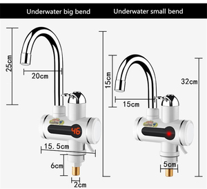 Image 4 - Aquecedor de água Tankless Aquecedor de Aquecimento Elétrico De Água Da Cozinha Torneira Display Digital Instantânea Torneira de Água Chuveiro 3000 W Interruptor Dual purpose