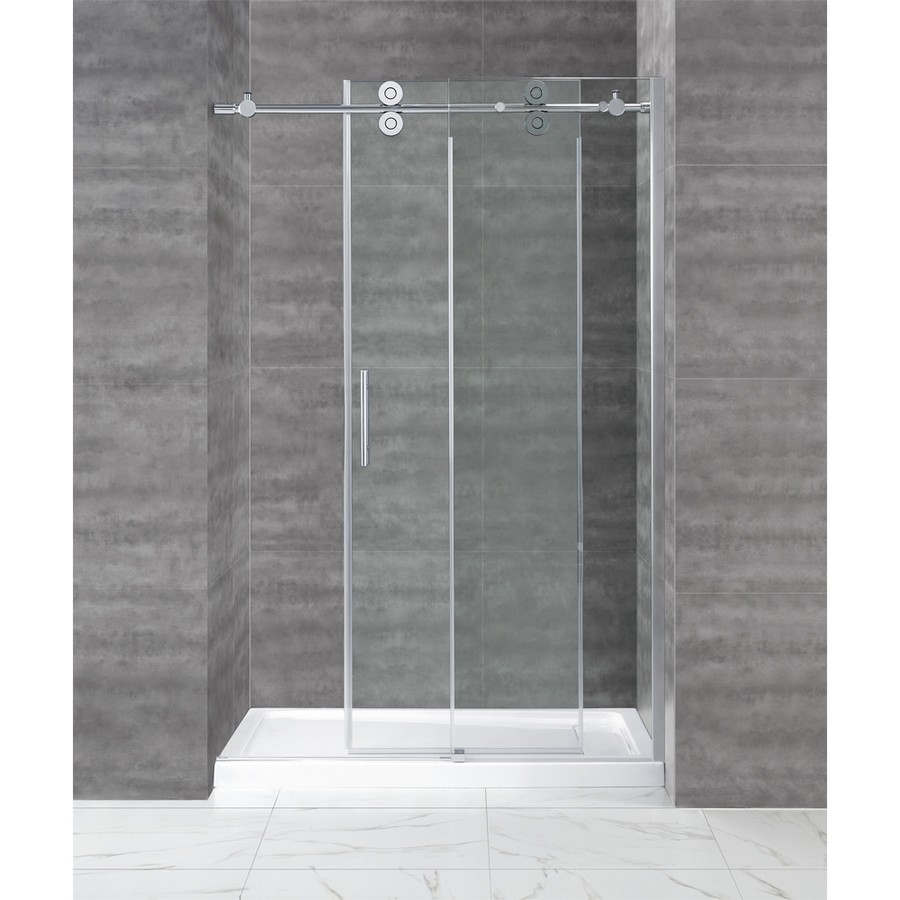 Online Shop 66ft Inline Chromed Polished Bypass Sliding Barn Shower