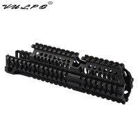 VULPO High Quality Tactical AK47 Quad Rail Picatinny Handguard System For AK Airsoft AEG