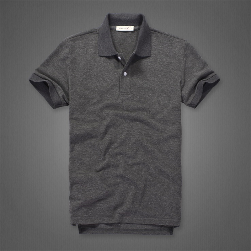 Men   Polo   Shirt cotton Solid color   polos   high quality soft and breathable modis shirt