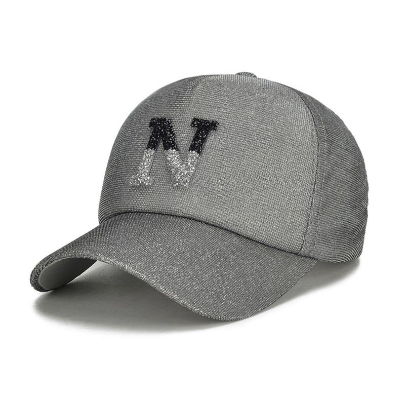 b9961d24c64 New Women Ball Hat Luxury Brand Bling Bling Baseball Cap Top Quality Girls  Leisure Hat Famous Designer Strapback Cap Fashion Hat-in Baseball Caps from  ...