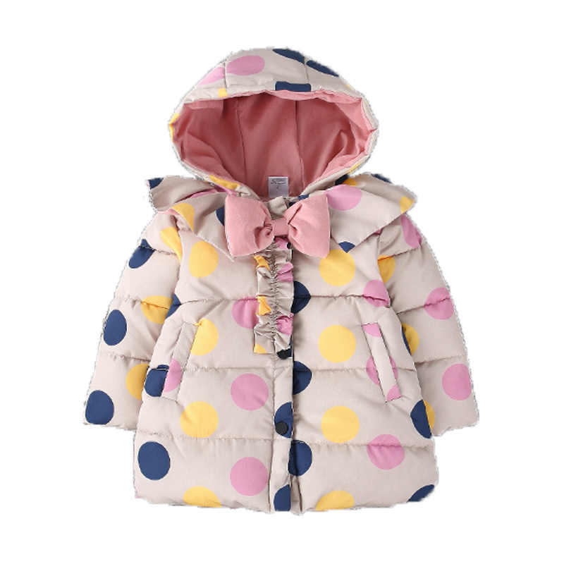 ab510b2e4d0b Child Baby Snow Coat For Girls Winter Warm Jackets Kid toddler Snowsuit Girl  Overcoat Down jacket