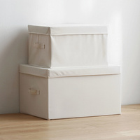 Storage box Oxford fabric clothes compartment large toy finishing box quilt storage box S/M/L wx10101612