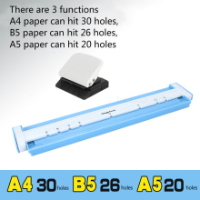 3 kinds of functions, A4 paper can hit 30 holes, B5 26 A5 20 punch machine