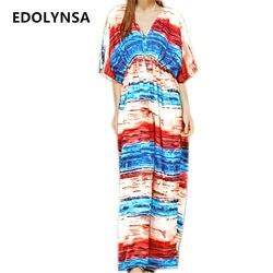 2017 bikini cover up pareos beach cover up rayon print long beach dress robe de plage.jpg 250x250