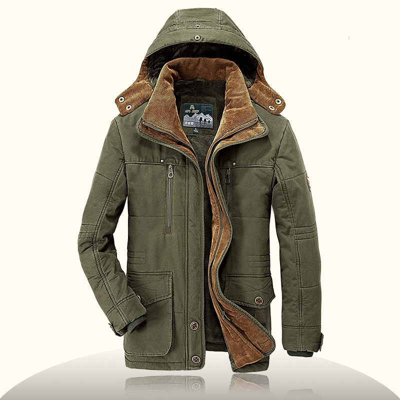 Brand parka men Winter jacket men warm thick fleece branded military jacket Cotton-Padded Jacket mens  parka coat plus size 4XL 2016 new long winter jacket men cotton padded jackets mens winter coat men plus size xxxl