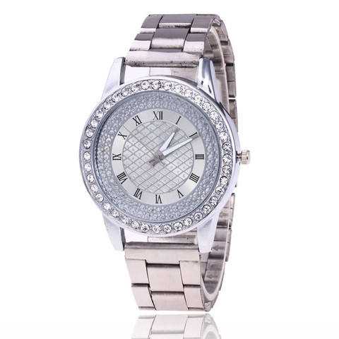 YBotti Luxury Brand Women Watcth Gold Steel Bracelet Watch Quartz Wristwatch Crystal Women Dress Jewelry Watch relogio feminino Lahore