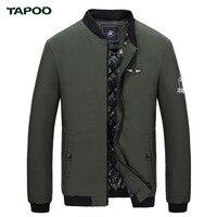 TAPOO Chaqueta Hombre Jaquetas Jaqueta Masculino Bomber Jacket Manteau Homme Blouson Homme Men Coat Flight Jacket