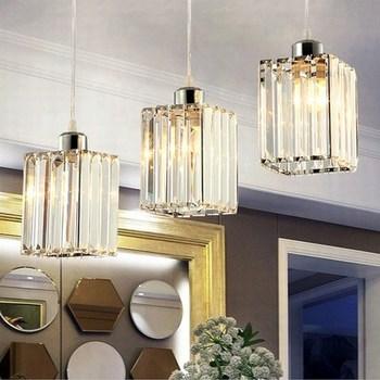 Moderno Colgante lámparas Loft lámpara Avize K9 cristal ...