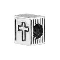Cross Bible Book Vintage Charm Fit European Charms Bracelets For Women 925 Sterling-Silver-Jewelry DIY Making Bracelet Wholesale