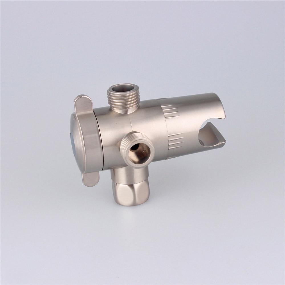 shower diverter valve brushed nickel - Shower Diverter Valve