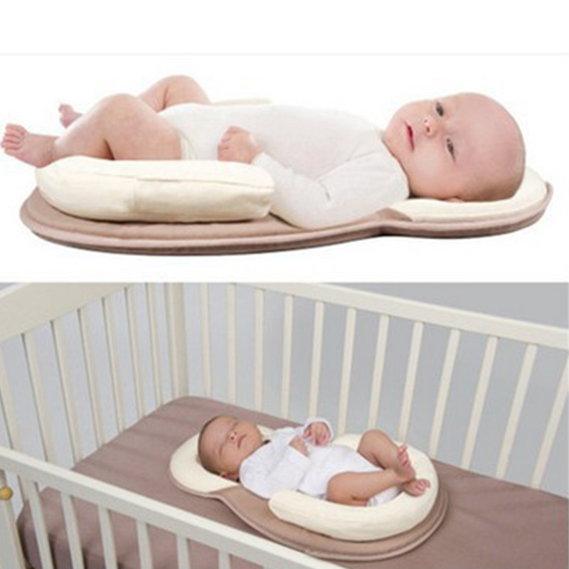 Multifunction Baby Crib Travel Sleep Pillow Newborn Anti-rollover Safety Cushion Baby Sleep Positioning Dropshipping