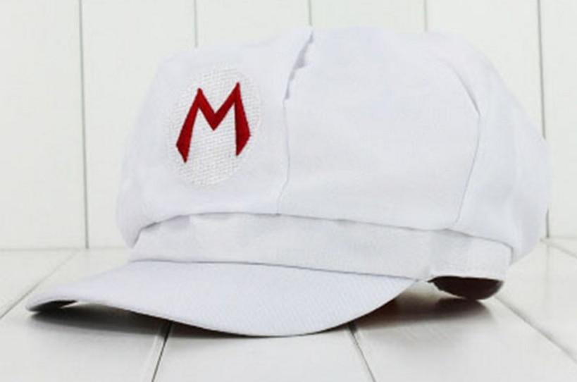 5 colores! Anime Super Mario sombrero gorra Luigi Bros Cosplay ...