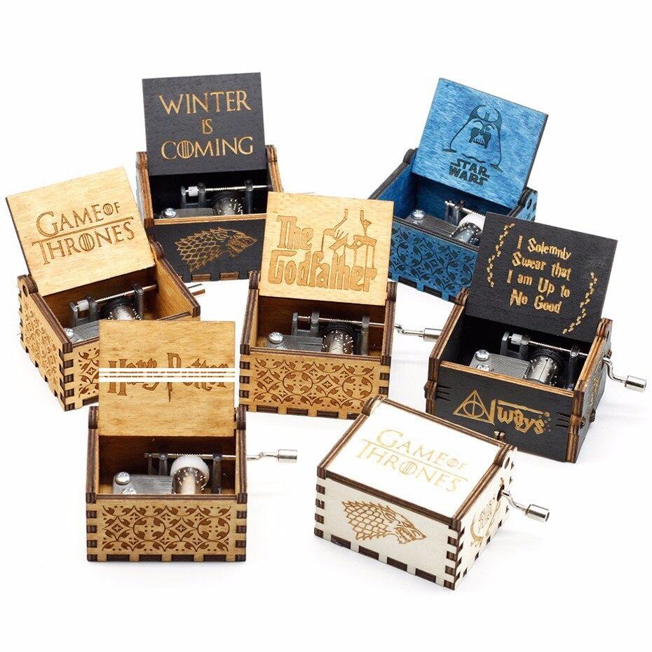 Zwei Farben Star Wars Musik Box Game of Thrones Musik Box Musik Thema Caixa De Musica EIN Geburtstagsgeschenk