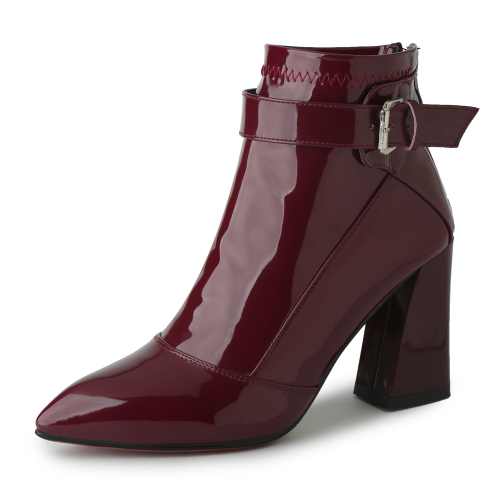 Sexy Pointed Toe ankle boots for women High heel boots