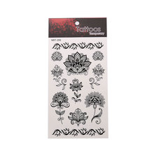 Waterproof Tattoo Sticker Stylish Personality Floral Pattern Unisex Exquisite Tattoo Sticker Show Your Style цена