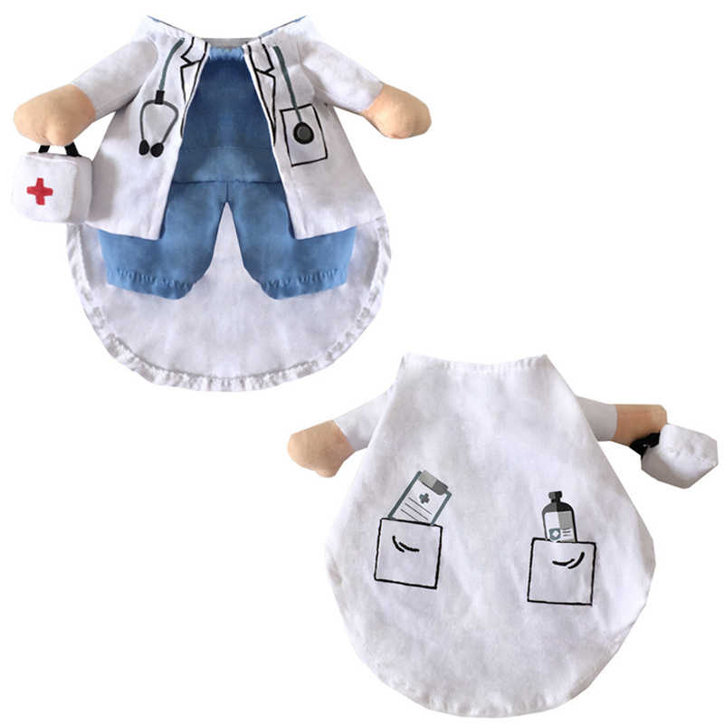 2d9ad45eae ... Funny Dogs Cat Costume Doctor And Nurse Suit Pet Halloween Christmas  Clothing Uniform Clothes For Puppy ...