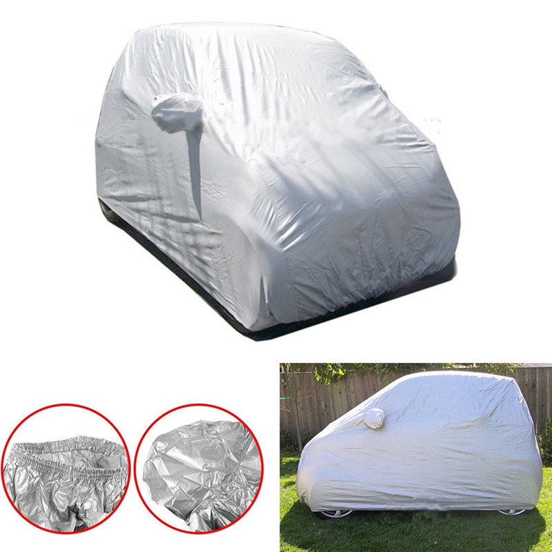Auto Auto Body Zon Regen Stofdicht Waterdicht Cover Shield voor Benz Smart Fortwo Outdoor Full Car Cover Zon Uv-bescherming