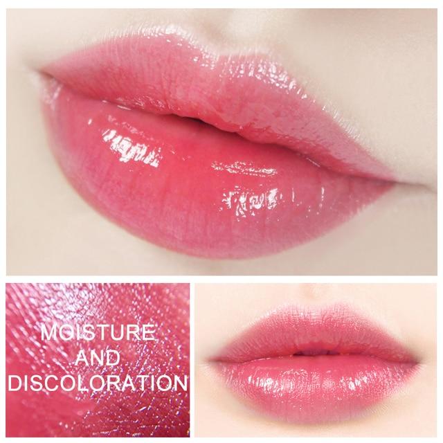 New Lady Aloe Lip Balm Hot Aloe Moisturizing Moisturizing Lipstick Long Lasting Waterproof Beauty Makeup TSLM2 2