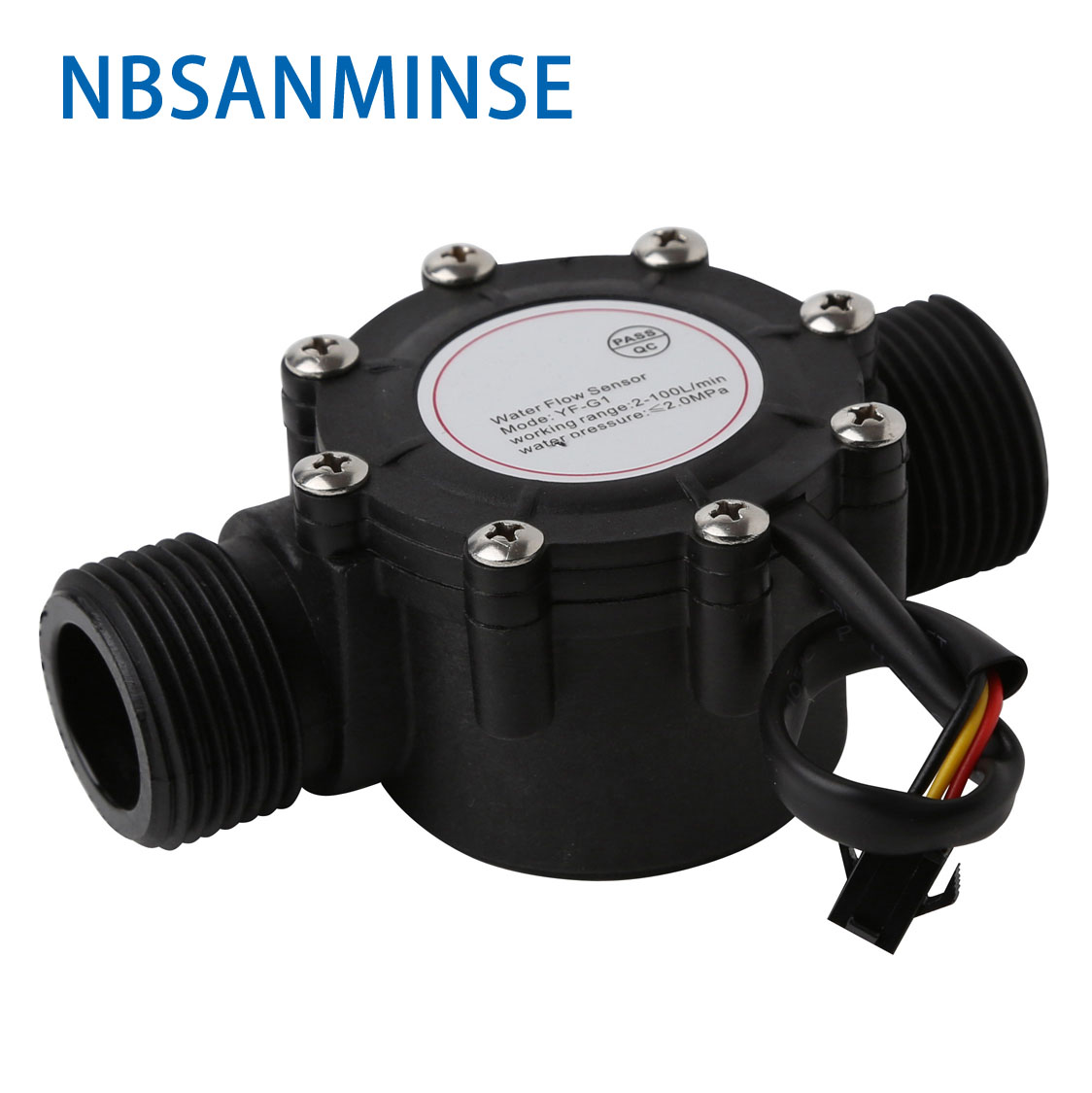 Nbsanminse Smf G1 Sms400a Water Flow Sensor Petrochemicals Work District Traffic Controller Waterswimming Pool Garden Industrial
