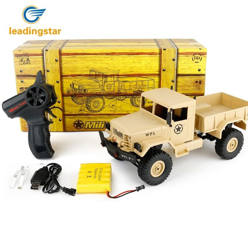 RCtown Remote Control Car WPLB-1 1/16 2.4G 4WD RC Crawler Off Road Car for Kids Children Boys Xmas Gift D30