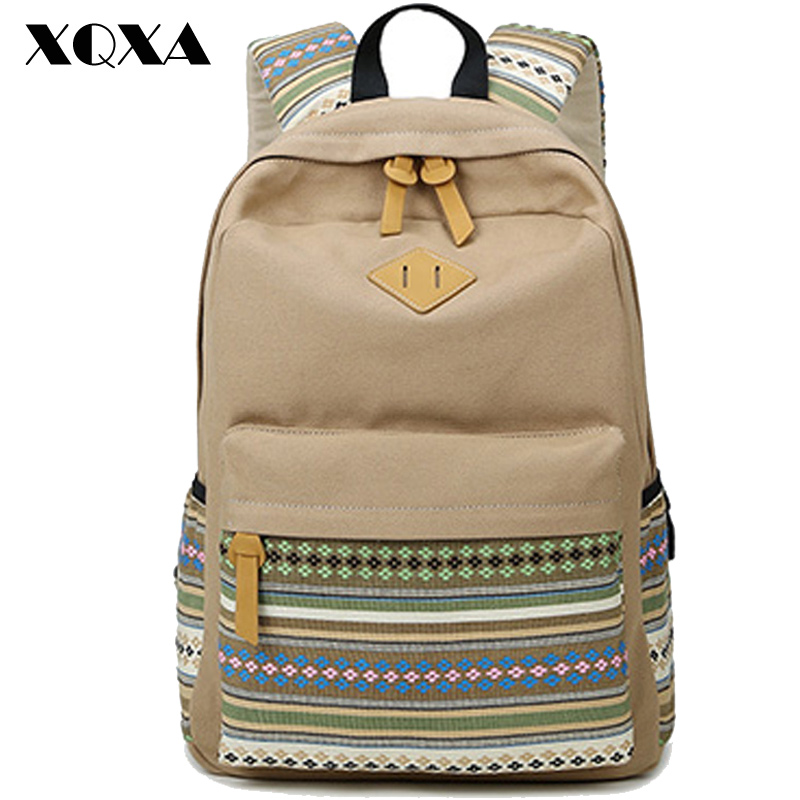 XQXA Rucksack Backpack School...