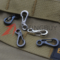 5 pcs/lot Spring SF Hooks Carabiner Key Chain Keychain Hook Clip Outdoor Sports Hiking Moauntaineering Climbing Safety Buckle