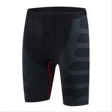 #6004 мужчины бегунов бодибилдинг фитнес сжатия Pro базовых слоев под Термальность колготки скины шорты мужской плюс Размеры M-XXL