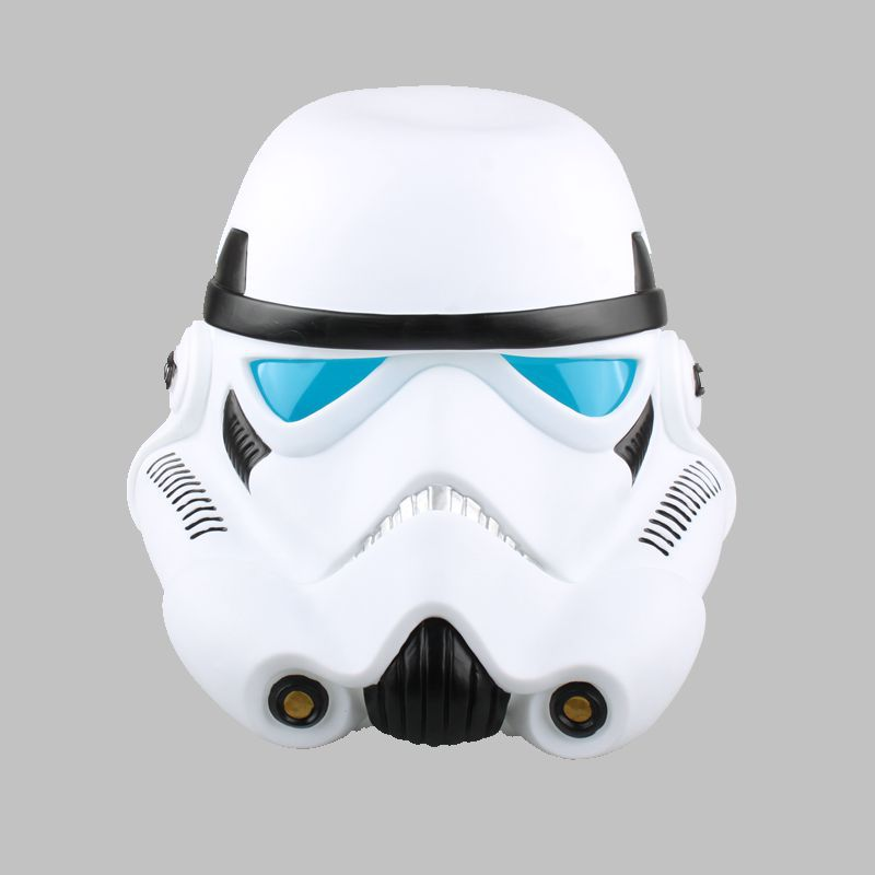SAINTGI 1pcs/set Star Wars COS Mask Helmet Black Series Darth Vader Ant-Man Stormtrooper Halloween 22cm Action Figure Model 22cm star wars darth vador mask 1 1 cosplay toy adults 2016 new real man wearing darth vader storm trooper helmet toys for kids