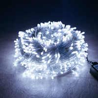 Año Nuevo De Navidad 2020 Led guirnalda 10 M 100 luces Adornos navideños para el hogar Natal decoración Kerst Adornos De Navidad 2019.Q