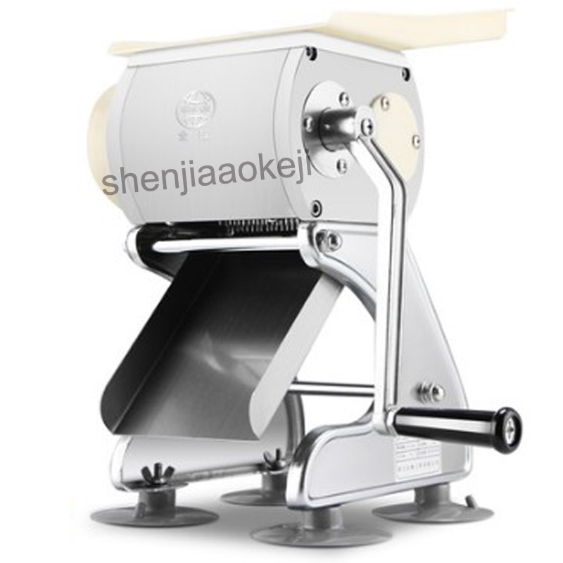Household manual meat slicer DGQ-S stainless steel dicing wire slicer multi-function meat cutting machine commercial 1pc 32b 550w multi function stainless steel meat cutting machine commercial slicer desktop automatic electric dicing machine
