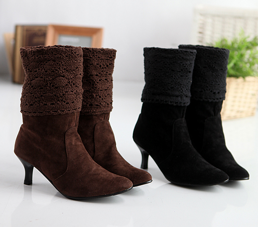 Popular Leather Slouch Boots for Women-Buy Cheap Leather Slouch ...