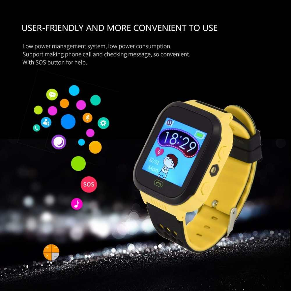 Kids Smart Watch With Camera Lighting Q528 Touch Sim Card Clock Smart Watch Phone Location SOS Call Monitor Y21 Pk Q100 Q90