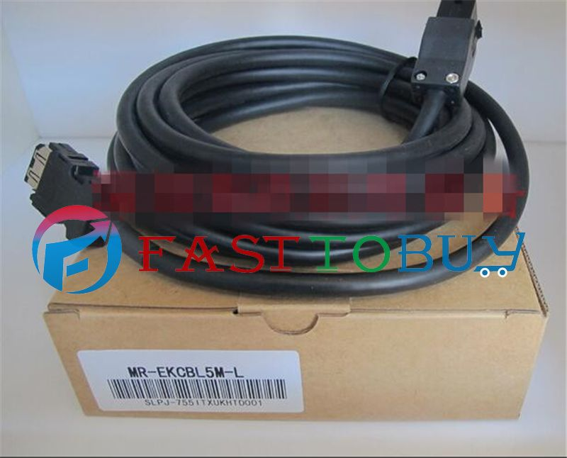 NEW MR-EKCBL5M-L Compatible Mitsubishi Servo Encoder Cable 5M One Year Warranty new mr bks1cbl5m a1 l compatible mitsubishi servo brake cable 5m year warranty