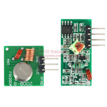 2pairs/lot 433MHz RF Wireless Remote Transmitting Mode & Receiving Module Transceiver Board Super Regeneration For Arduino