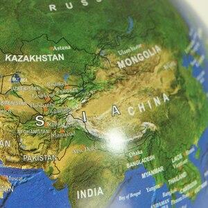 Image 3 - 6 pollici Creativo Levitazione Magnetica di Galleggiamento Globe Mappa Del Mondo la Best Società Desktop di Decorazione Di Natale regalo di anniversario
