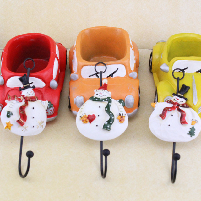 3Pcs Christmas Decorations For Home Cartoon Christmas Snowman ...