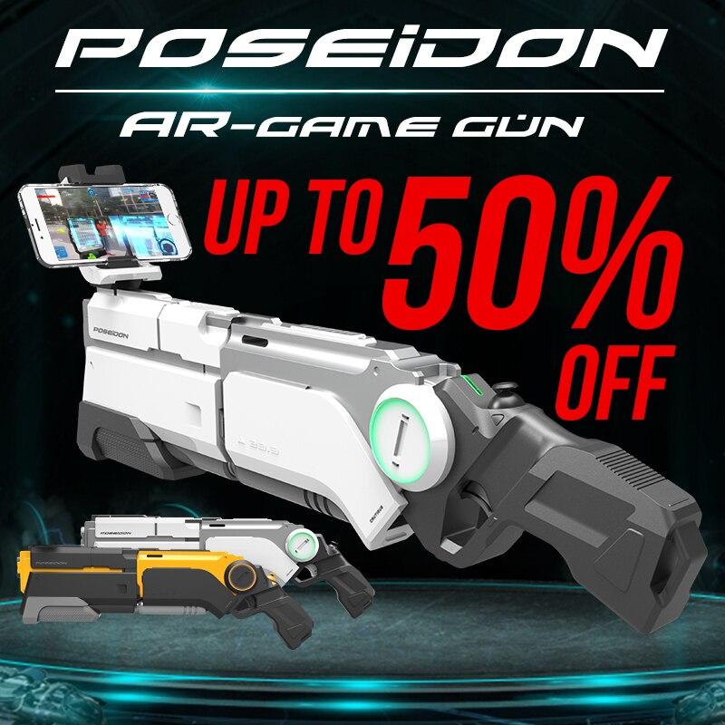 AR Gun Pneumatic Gun Kids Toys Gun Airsoft Weapons Bluetooth Cell Phone Stand Holder Multiplayer Battle Remote Sensing Game intelligent ar gun ar86